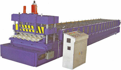 Roll former metal roofing tile forming machine 1