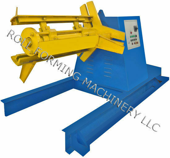 Decoiler uncoiler machine